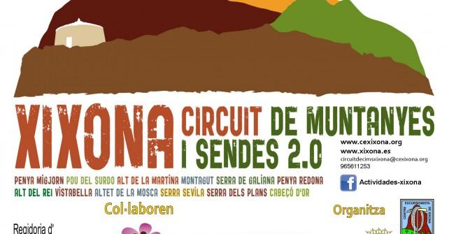 XIXONA, CIRCUIT DE MUNTANYES I SENDES 2.0