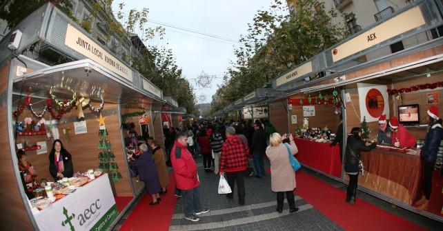 La Feria de Navidad de Jijona en vídeo