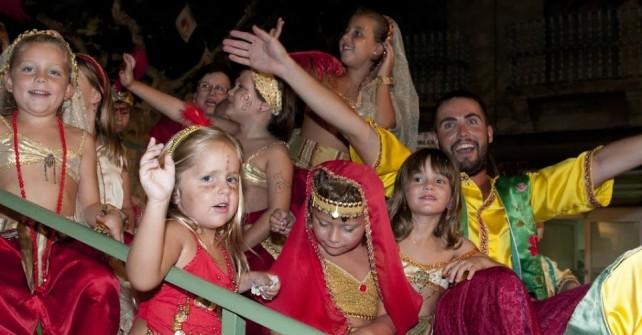 Actividades infantiles en Fiestas de Jijona