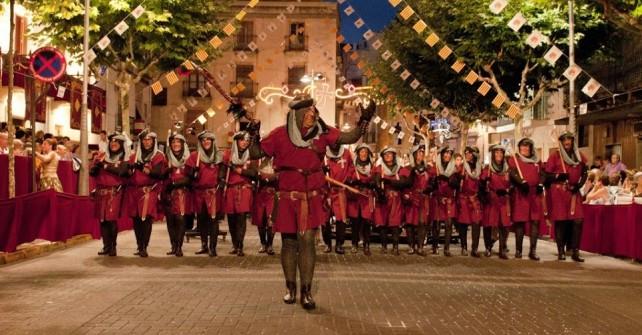 Programa de Actos de las Fiestas de Moros y Cristianos 2015