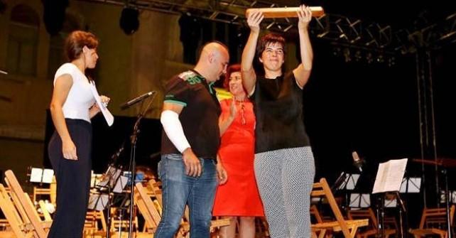 Nuria Francés, directora del Himno de Fiestas 2015