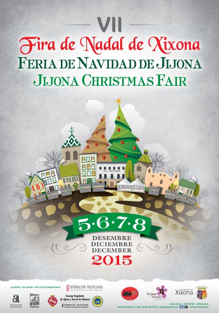 VII Feria de navidad de Jijona