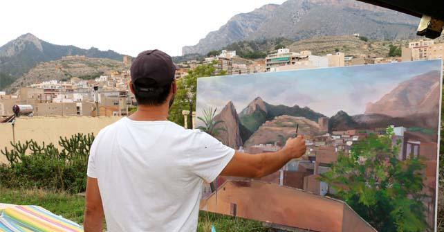 V Concurso de Pintura al Aire Libre Ciudad de Xixona