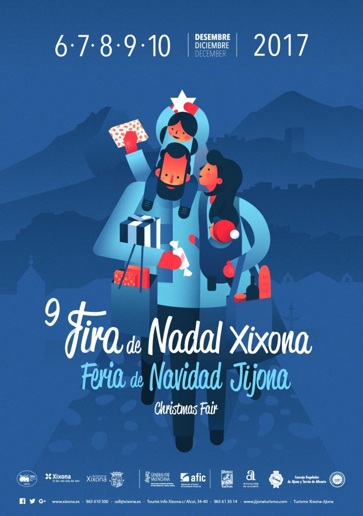 Cartel Feria de Navidad Jijona