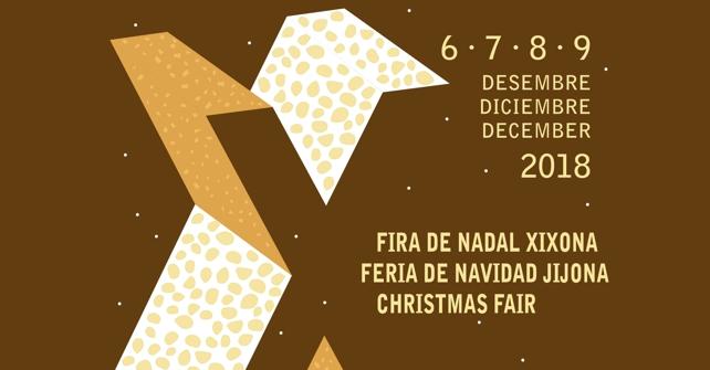 Programa de actividades de la X Feria de Navidad de Jijona