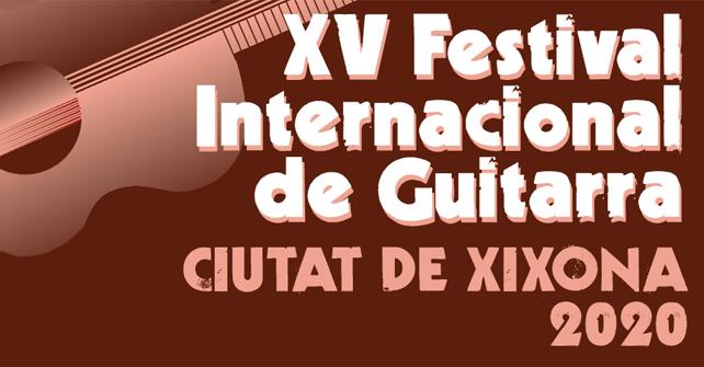 XV Festival Internacional de Guitarra Ciutat de Xixona